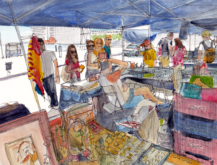 Antique Market, Barcelona