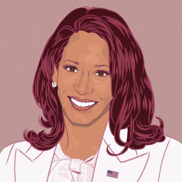Portrait of Kamala Harris