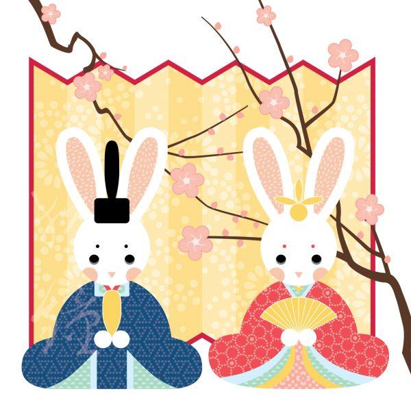 Hina Matsuri Bunny Dolls
