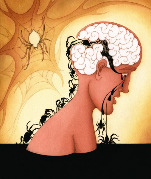 The Brain Mechanics of Repetitive Thinking