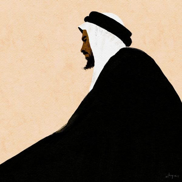 The Sheikh | Digital Portrait Painting