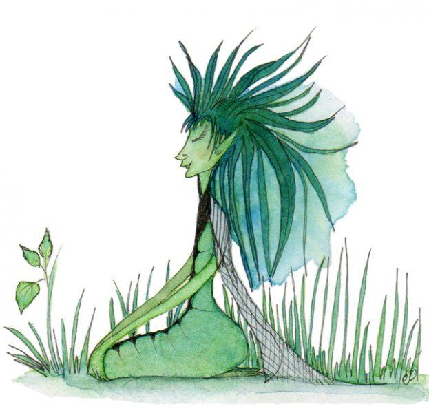Nettle faery