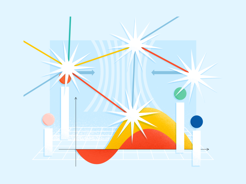 Abstract Scrum Illustrations
