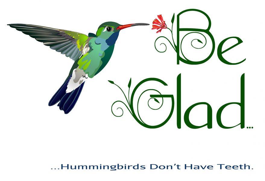 Hummingbirds Don't Have Teeth
