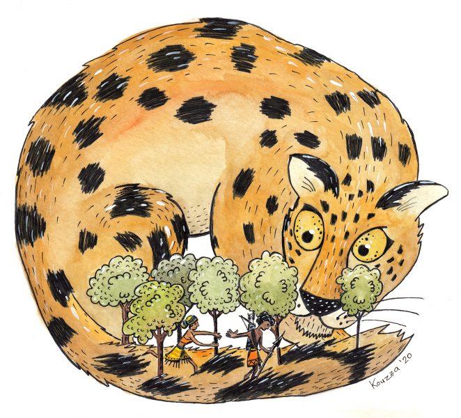 Leopard man Folk Tale