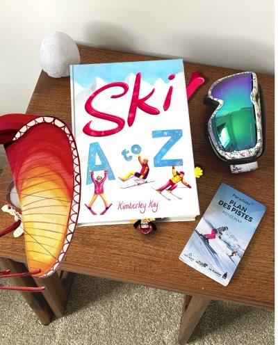 Ski A-Z Book Mock-up