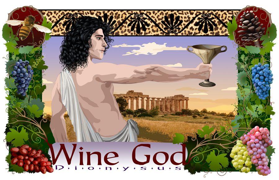 Wine God Dionysus