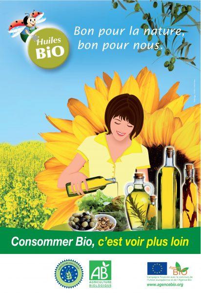 Olive oil packaging illustration