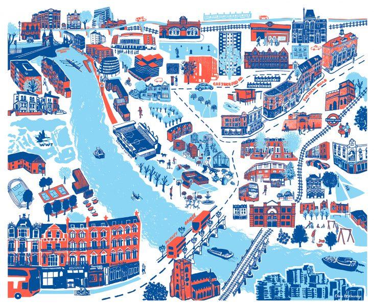 Fulham Map