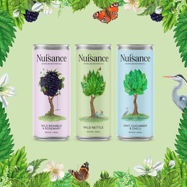Nuisance Drinks Illustrations