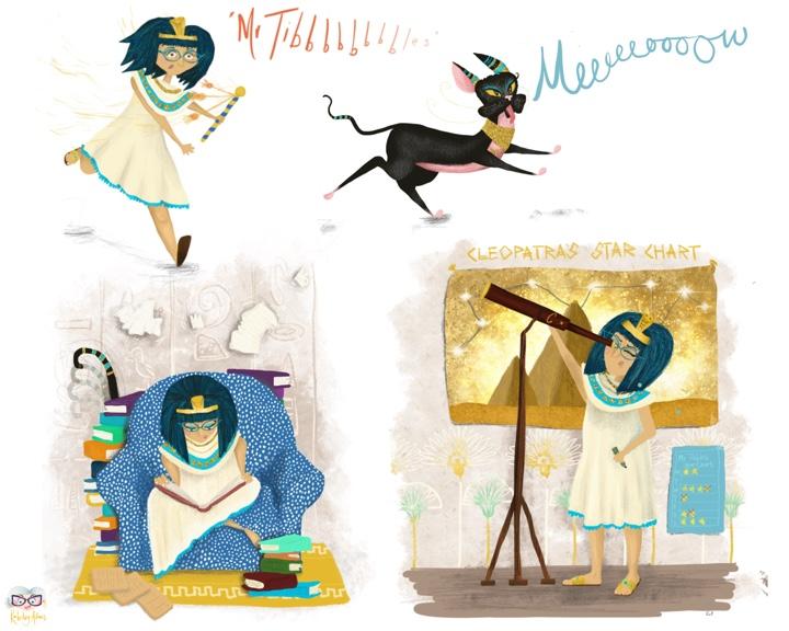 Cleopatra Poses