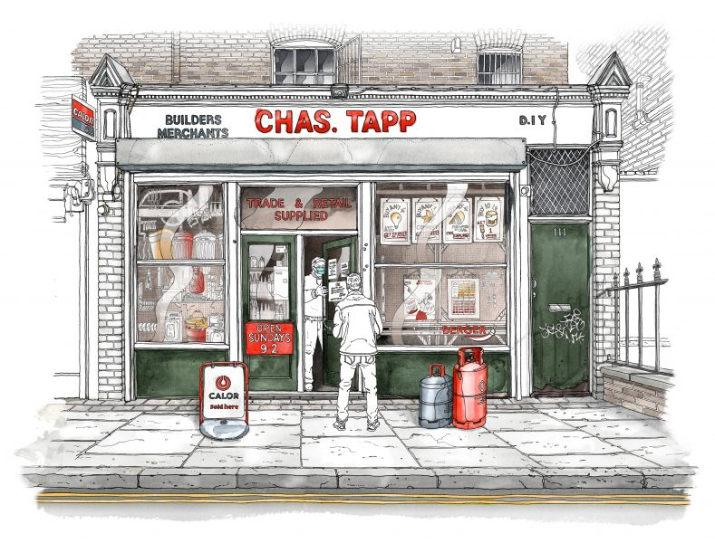 Chas Tapps has served Islington, London for over 200 years