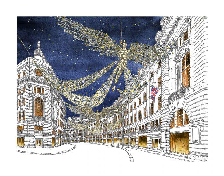 Regents Street Christmas Angels