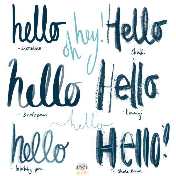 Hello_Brush_Lettering_