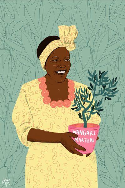 Portrait of Wangari Maathai