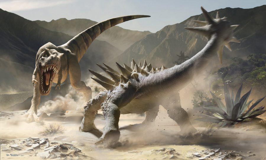 T-Rex Vs. Ankylosaurus