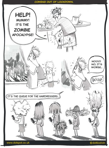 Editorial Comic panel