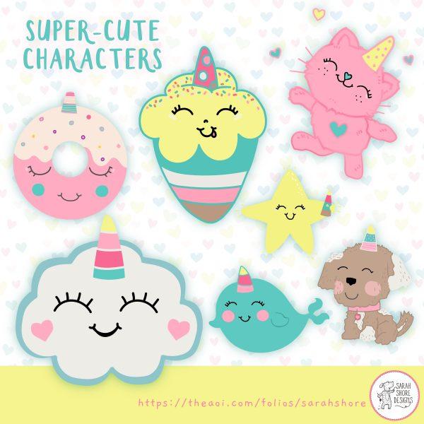 CuteCharcaters_SarahShore_AOIFolio
