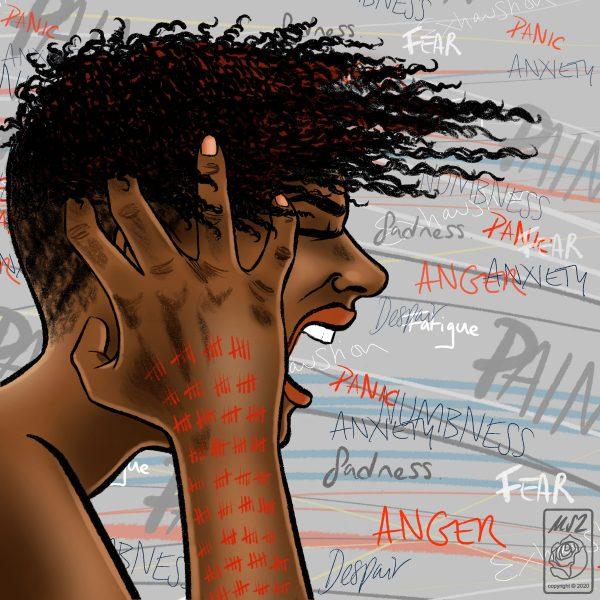 Mel Langton Art Mental Health Awareness