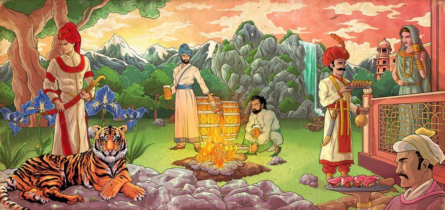 'The Mughals'