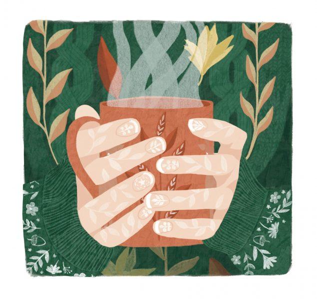 Autumn Cup Illustration
