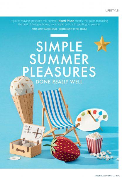 Summer feature opener / Boundless Magazine