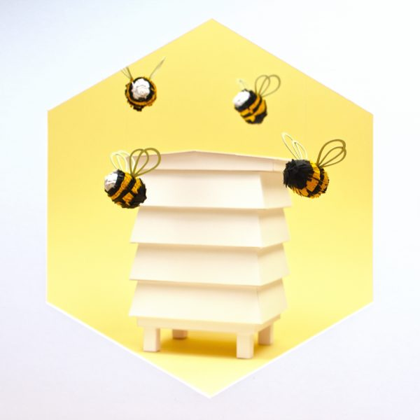 18_Bee Happy Paper Artist Collective