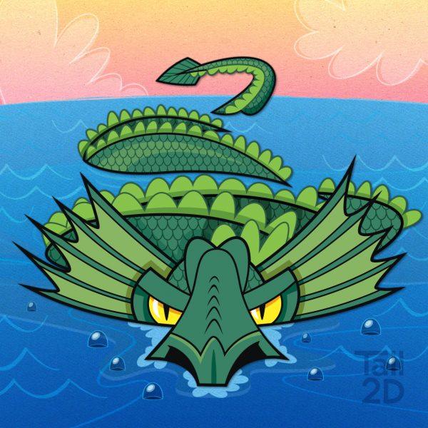 North Sea Serpent