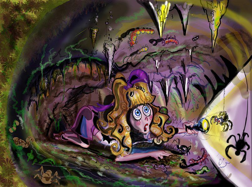 Spider Cave-kidsbook