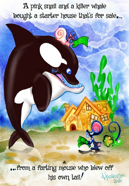 The Killer Whale and the pink Snail