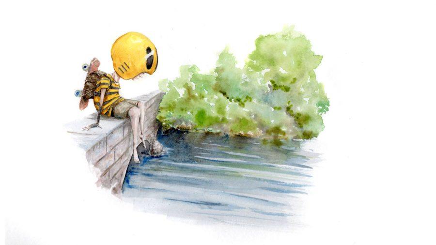 Bee on the bridge