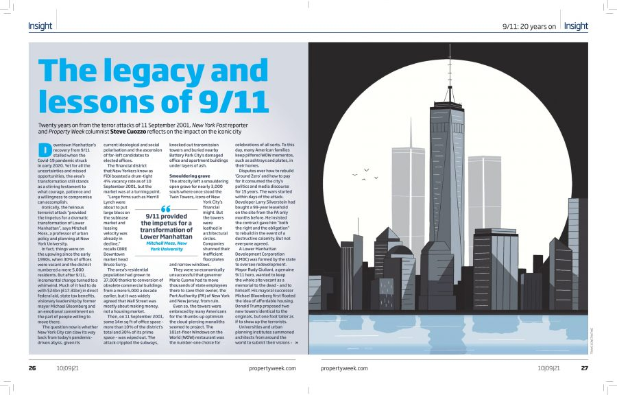 Editorial: Property Week Magazine