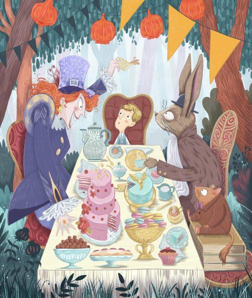 Allister in Wonderland