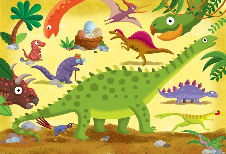 Dinosaurs Flap Book