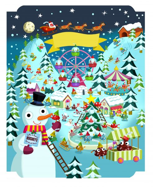 Hershey advent calendar