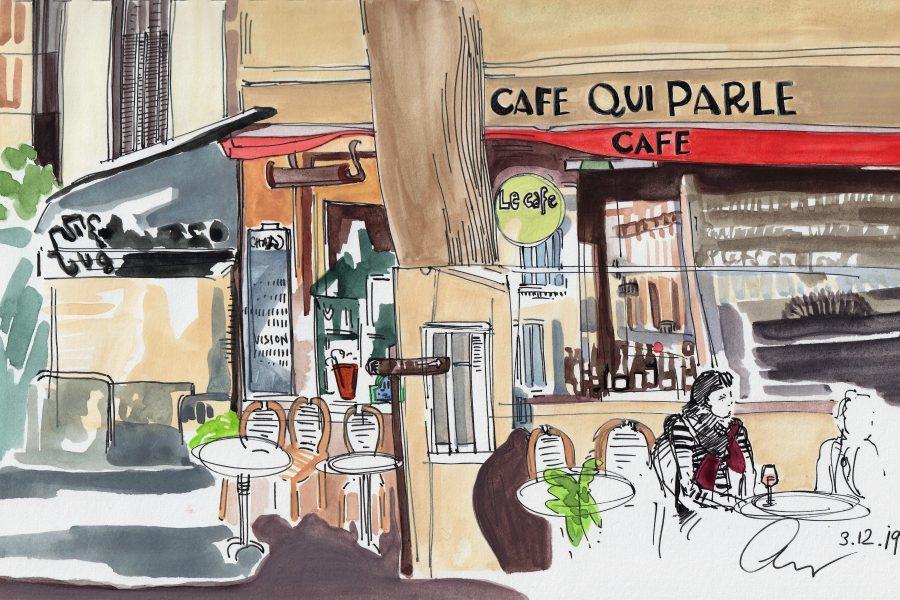 Cafe Qui Parle, Montmartre