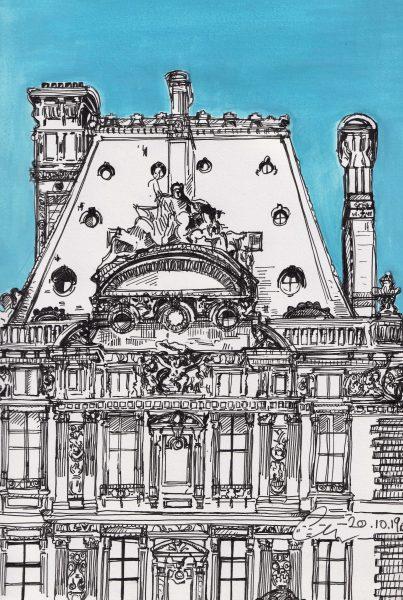 Ecole du Louvre, Rue Francois Mitterand