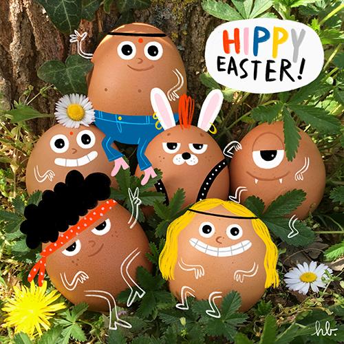 Hippy Easter!
