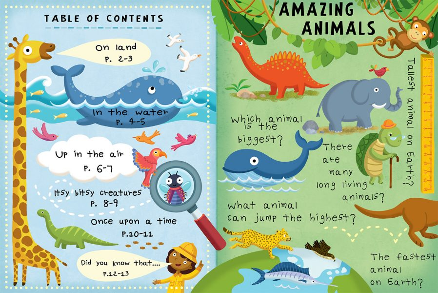 Amazing Animals Flap Book