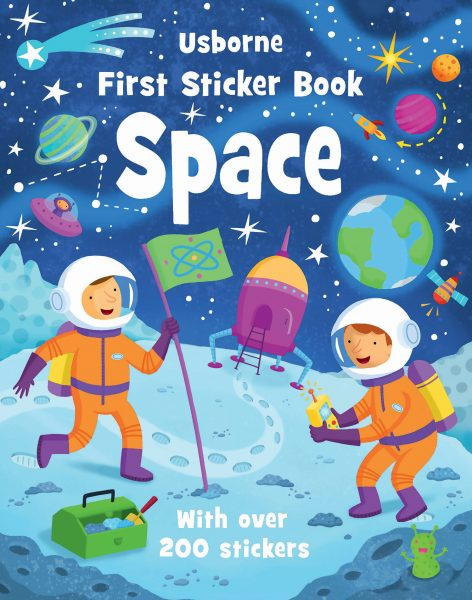 Space Space First Stickers Book