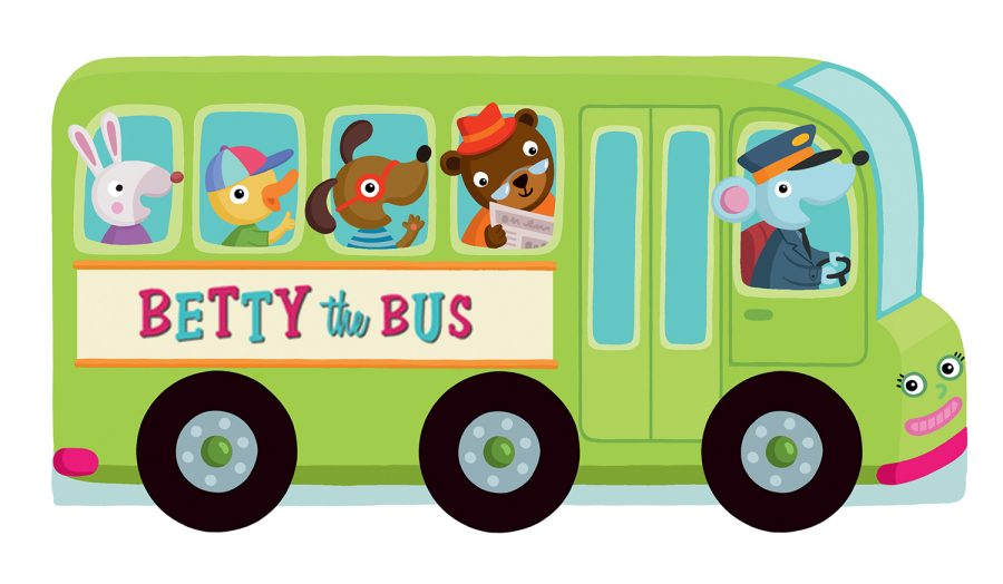 Rolling Wheels – Betty the Bus