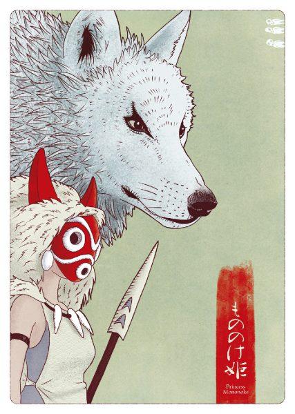 Princess Mononoke Alternative Movie Poster