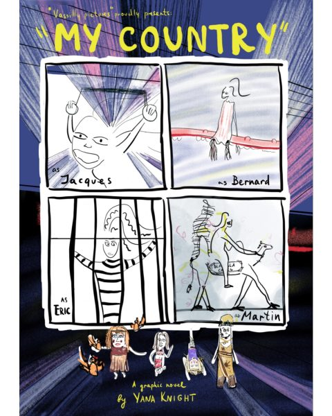My Country graphic novel