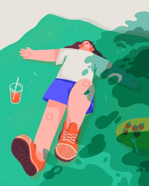 Picnic nap