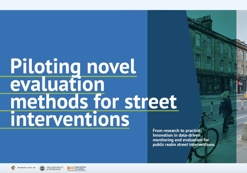 Report graphic design for client University of Edinburgh