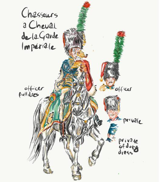 Chasseurs a la Cheval