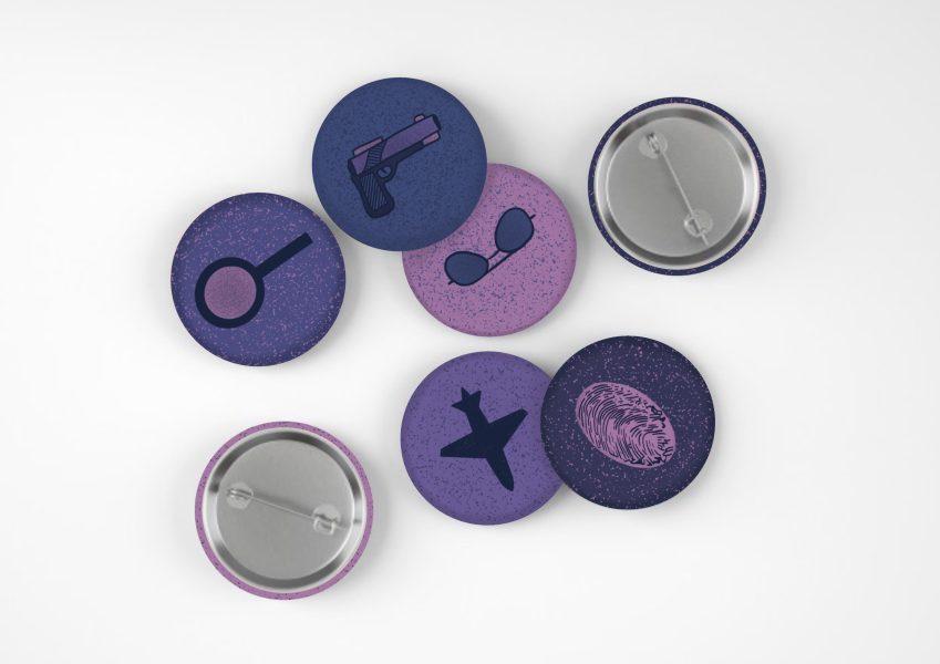 Destinations Project Pin Badges