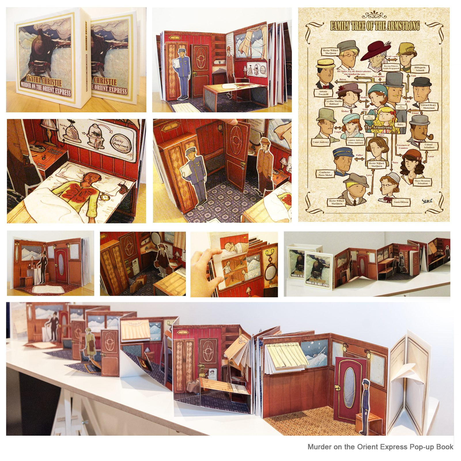 Murder on the Orient Express Pop-up Book – The AOI