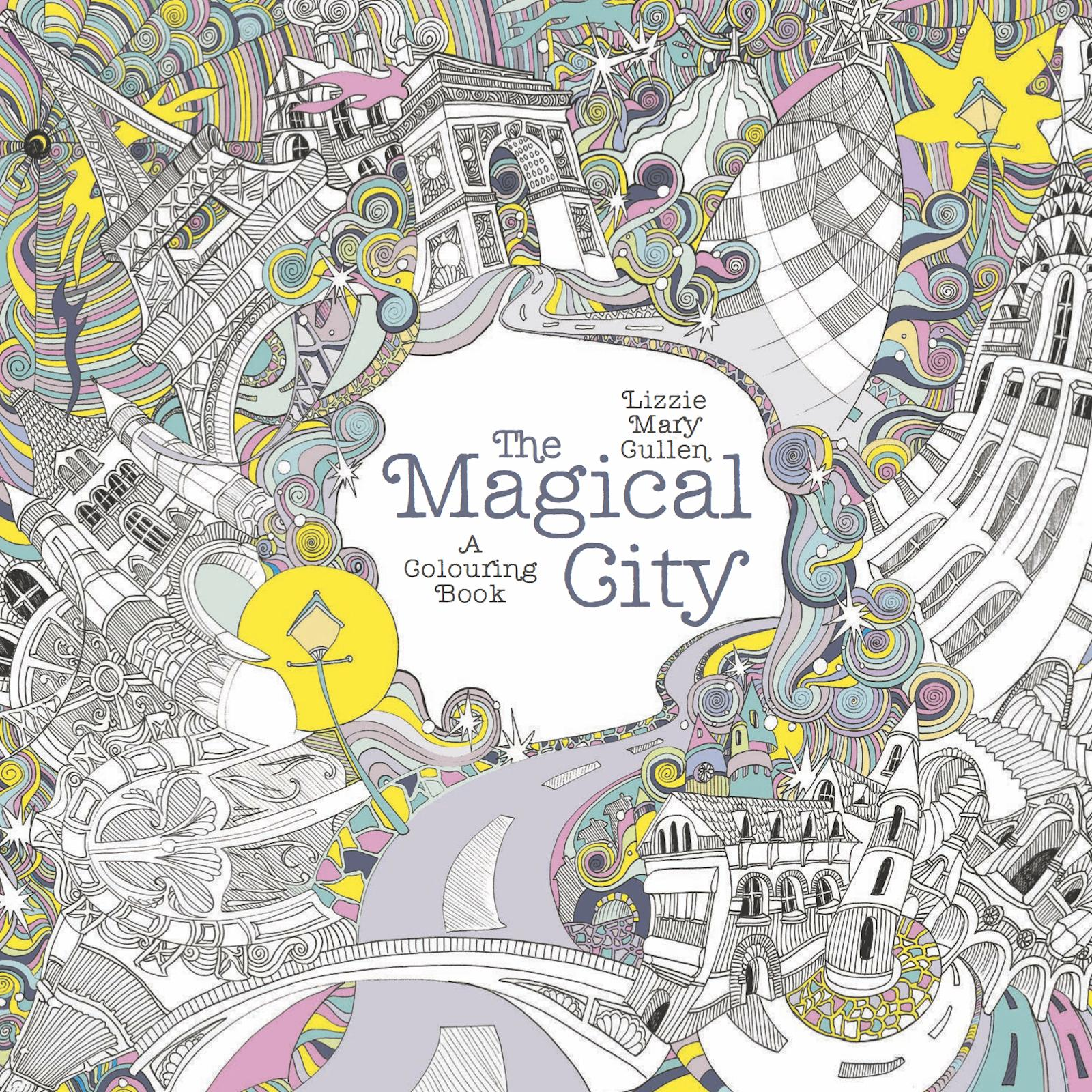 Featured In Exhibition 87 Pen And Ink Illustrations Cover For Colouring Book Adults Multiple Image Entry A Trip Around The World My Own