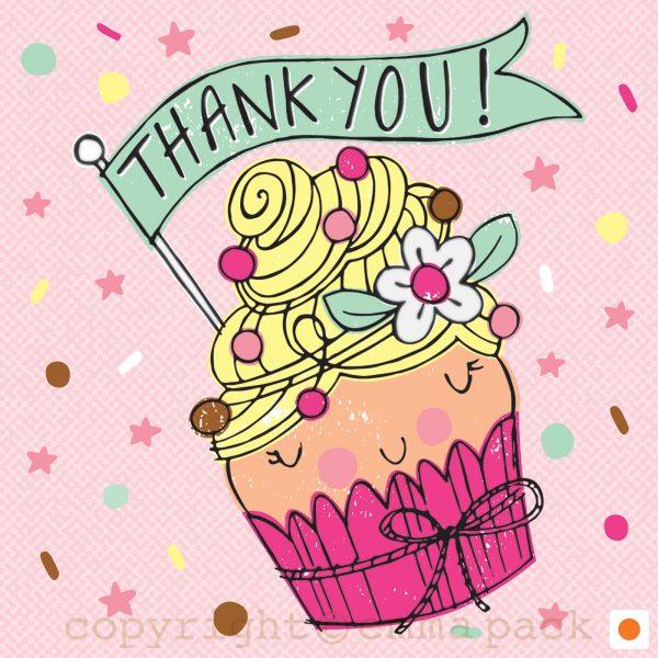 20-BB-01-NC01602-Cupcake Thank You